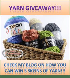 Yarn giveaway